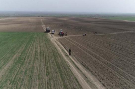 Ռուս խաղաղապահներն ապահովում են Ղարաբաղում գյուղատնտեսական աշխատանքների անվտանգությունը