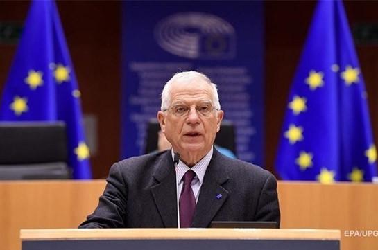ЕС призывает Россию отвести войска от Украины