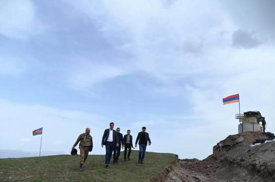 Սյունիքի գյուղերի հարևանությամբ ադրբեջանական զինված ուժերի ծառայողների ներկայությունը չունի որևէ իրավական հիմք, ապօրինի է. ՄԻՊ