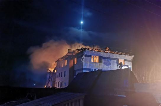 Два человека задержаны после взрыва газа в Нижегородской области