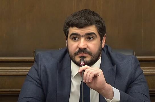 Есть силы, с которыми можно сформировать блок – Арман Егоян