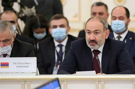 Pashinyan voices Armenia's readiness to exert efforts necessary for further enhancement economic cooperation in EAEU
