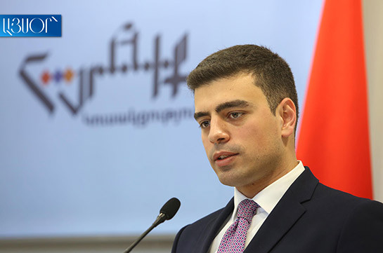 Artur Vanetsyan to play core role in snap elections – Homeland party spokesperson