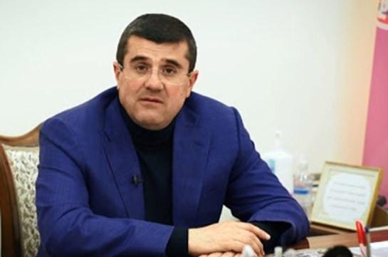 Artsakh president interrogated in sidelines of criminal case on overthrow of constitutional order