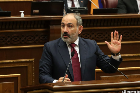 Armenia's Acting PM refuses to name vaccine he got against COVID-19