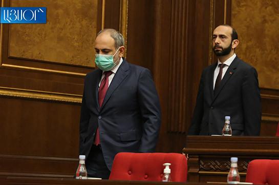 Nikol Pashinyan not elected in Armenia PM's post