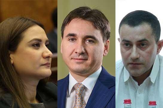 Депутат фракции «Мой шаг» опровергнет распространенные заведомо ложные сведения об Армене Геворкяне
