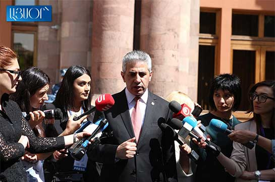Ex-head of Armenia's CC staff predicts serious clashes during snap elections