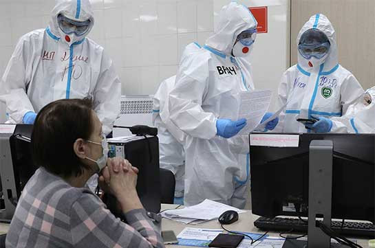Russia records 7,770 new coronavirus cases, the lowest number since Sep 26