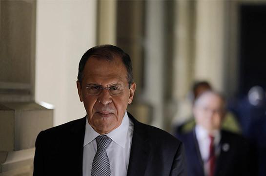 Глава МИД РФ Сергей Лавров сегодня прибудет в Армению
