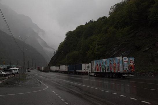 Լարս ավտոճանապարհը բաց է, իսկ Հայաստանում դեռ դժվարանցանելի ավտոճանապարհ կա