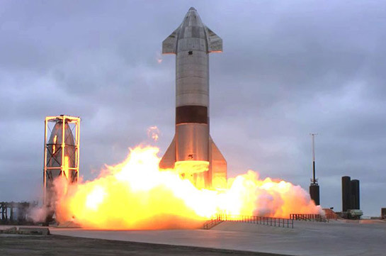 SpaceX-ը հաջողությամբ փորձարկել է Starship տիեզերանավի նախատիպը