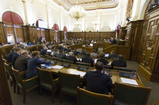 Latvia's parliament recognizes and condemns Armenian Genocide