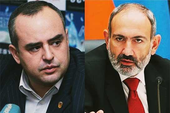 Бывший адвокат Никола Пашиняна отдал под суд Пашиняна