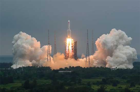 Big Chinese rocket segment set to fall to Earth