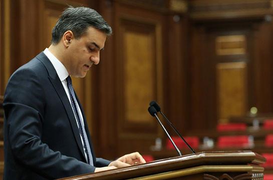 Информация об отставке Армана Татояна не соответствует действительности – аппарат омбудсмена Армении