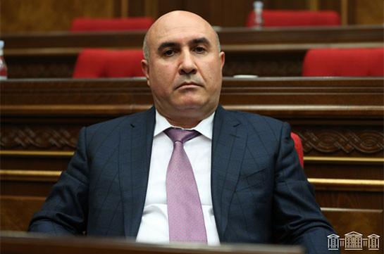 Гегам Овеян избран членом Аудиторской палаты