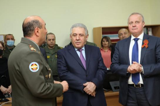 Кабинет русского языка имени Суворова открылся в Военном университете Армении