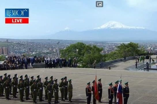 May 9 events held in Yerevan Victory Park