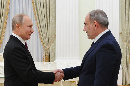 Armenian-Russian allied relations will continue to develop successfully: Pashinyan congratulates Russia's Putin, Mishustin