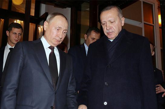 Erdogan, Putin discuss situation in Jerusalem over phone — NTV channel