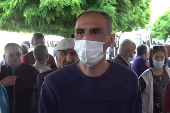 Работники «Наирита» объявят забастовку, если проблемы не будут решены – акция протеста перед правительством