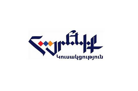 Homeland party calls on national and healthy forces to consolidate to confront the security challenges in Armenia's Syunik and other regions