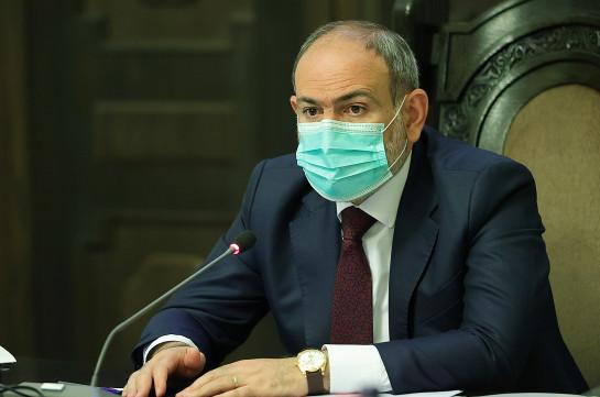 Armenia's PM says 250 Azeri soldiers are in the territory of Armenia's Syunik and Gegharkunik provinces now