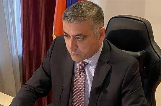 ԵԱՀԿ-ում ՀՀ մշտական ներկայացուցիչը ԵԱՀԿ Մշտական խորհրդի նիստին անդրադարձել է Հայաստանի ինքնիշխան տարածք Ադրբեջանի ներխուժմանը