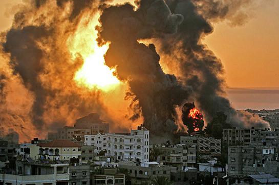 Израильские войска нанесли удары по целям в Газе