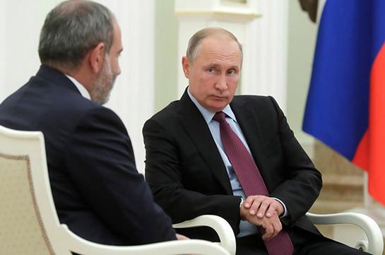 Putin, Pashinyan discuss situation over Karabakh on phone