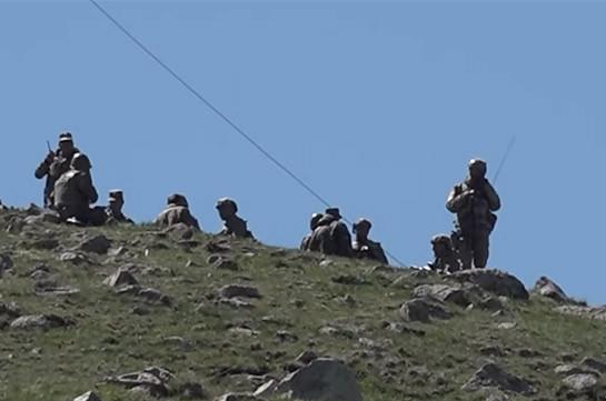 Ситуация на границе Сюникской и Гегаркуникской областей пока не разрешена – Минобороны Армении