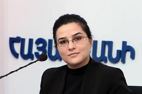 Բարձր ենք գնահատում մեր միջազգային գործընկերների կոչերն ուղղված Ադրբեջանին. Աննա Նաղդալյան