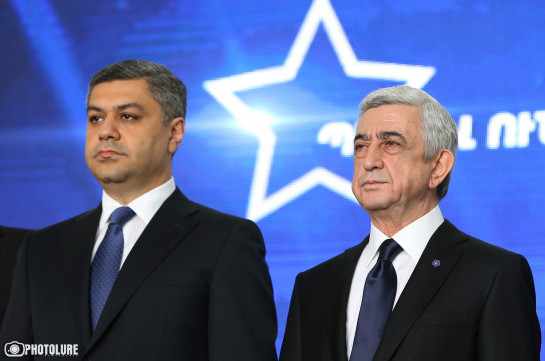 Artur Vanetsyan realized in time the real essence of jackals – Serzh Sargsyan