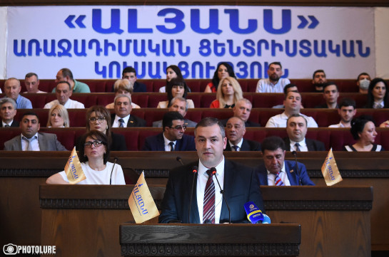 Alliance party presents list of demands to authorities