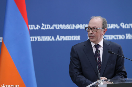 Armenia's acting FM holds phone talks with CSTO Council of FMs president and CSTO Secretary General