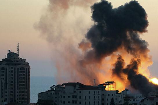 Армия Израиля сообщила об авиатаке по сектору Газа