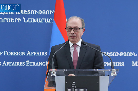 Armenia's acting FM to participate in session of CSTO Council of Foreign Ministers