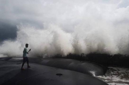 Հնդկաստանում «Տաուկտաե» ցիկլոնի հետևանքով 8 մարդ է մահացել