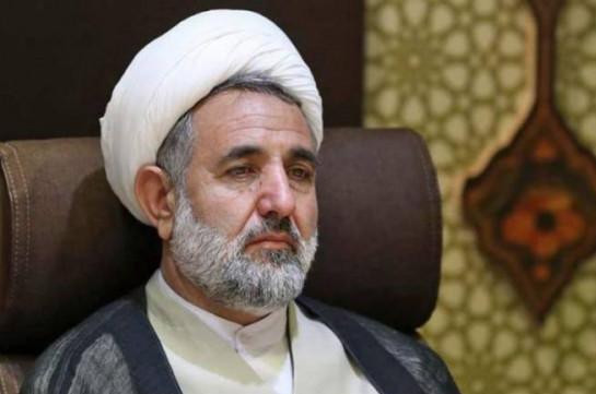 Iran considers any change in Armenia's borders unacceptable