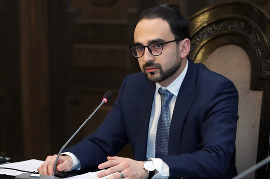 Armenia's acting Vice PM signs decree releasing deputy FMs from post