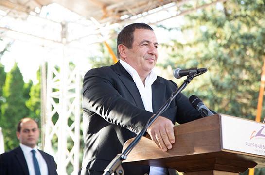 На нашей границе должны стоять плечом к плечу армянские и русские солдаты – Гагик Царукян