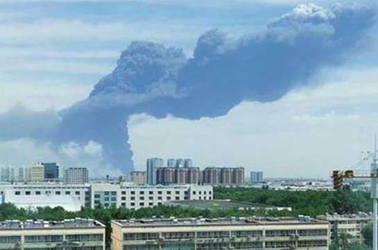 Չինաստանում հրդեհ է բռնկվել խոշոր քիմիական գործարանում