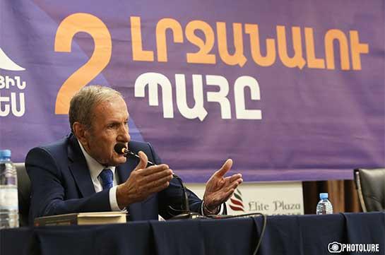 Я считаю Пашиняна большим злом, чем исходящие от Турции и Азербайджана угрозы – Левон Тер-Петросян