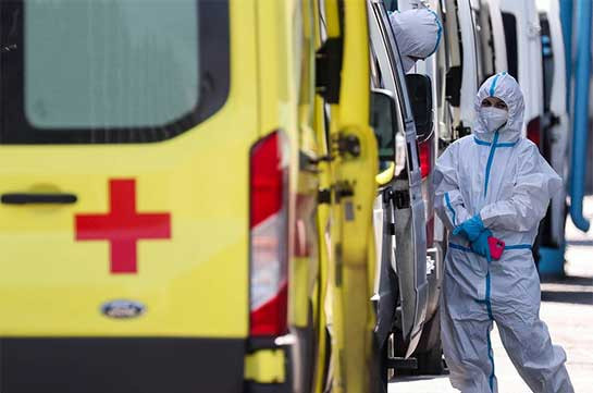 Russia reports over 11,600 daily COVID-19 cases, a new high since Feb. 24
