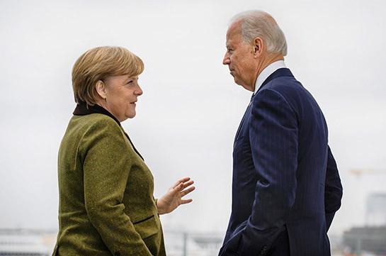 Байден встретится с Меркель в Вашингтоне 15 июля
