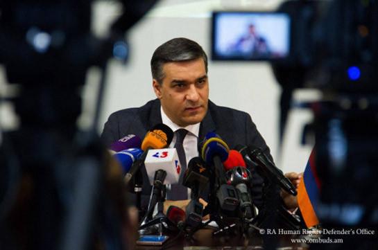 Омбудсмен Армении Арман Татоян пользуется наибольшим доверием в обществе