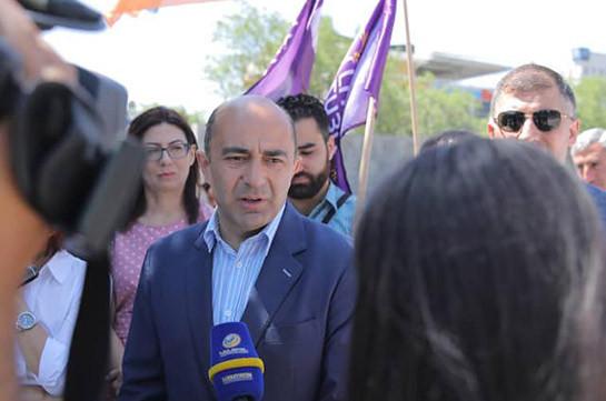 Аннулирование документа от 9 ноября означает новую войну – Эдмон Марукян