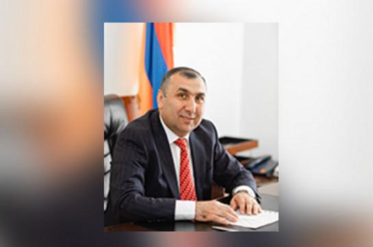 Քաջայր Նիկողոսյանն ազատվել է Լոռու մարզպետի տեղակալի պաշտոնից և նշանակվել Սպիտակի ղեկավարի պաշտոնակատար