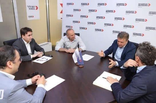 Robert Kocharyan meets with ex-PM Karapetyan, discusses upcoming programs